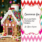 Gingerbread Fun : ELA and Math Stations