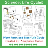 Plant Parts/ Plant Life Cycle Adapted Unit for Special Education