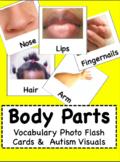 #spedsummerhalfoff Body Parts - Vocabulary Photo Flash Car