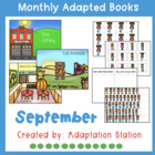 September Adapted Books for Special Education