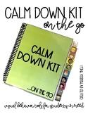 #spedtreats2 Calm Down Kit On The Go- Visual Behavior Tool