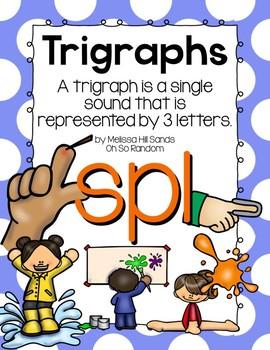 -spl Trigraph Anchor Chart & Practice {Click File, Print}