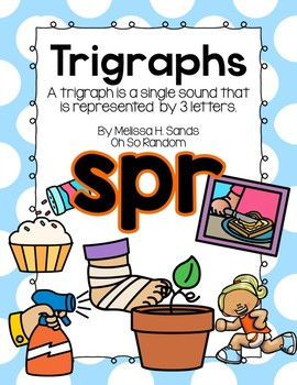 -spr Trigraph Anchor Chart & Practice {Click File, Print}