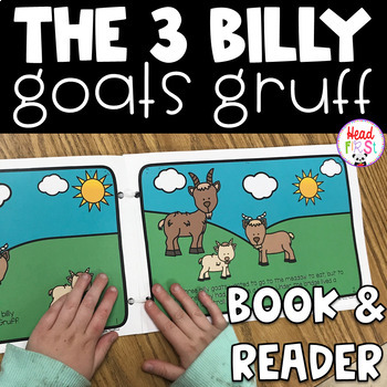 The Three Billy Goats Gruff Read Aloud Book And Student Reader Fairy Tales