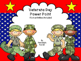 #stockupjuly Veterans Day Power Point - ELA Activities included!