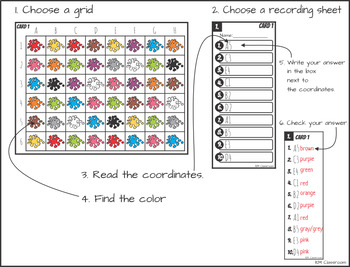 Color Posters Clip Cards  Puzzles Games BUNDLE +British