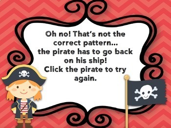 Rhythm Game: Pirate Patterns {Quarter Rest}