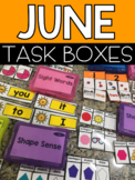 June Task Boxes #summer2018