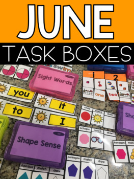 June Task Boxes