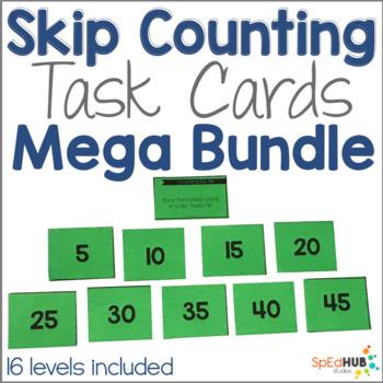 Skip Counting Task Card Mega Bundle