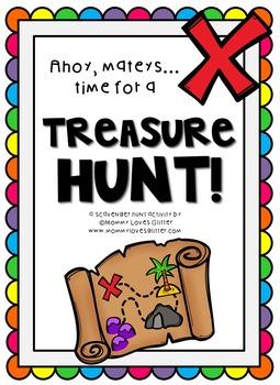 #teachathome: FREE Printable Treasure/Scavenger Hunt