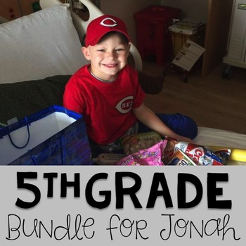 #teamjonah Fifth Grade Bundle