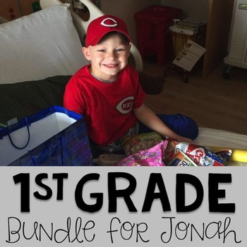 #teamjonah First Grade Bundle