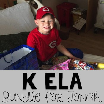 #teamjonah Kindergarten Reading Bundle