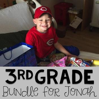 #teamjonah Third Grade Bundle