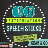 /th/ Articulation Speech Sticks