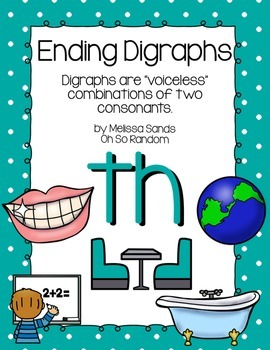 -th Final Digraph Anchor Chart & Practice {Click File, Print}