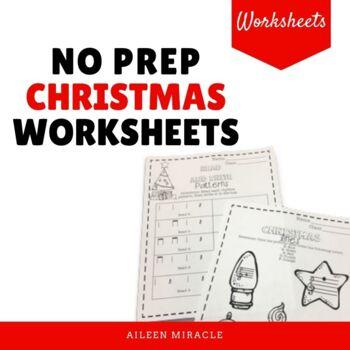Christmas Music Sheets Printable.No Prep Christmas Music Worksheets