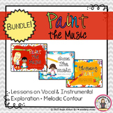 Paint the Music BUNDLE - Vocal/Instrumental Exploration +