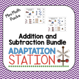 #thanksgivingpresale Adapted Addition and Subtraction Unit