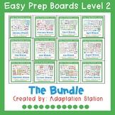 Interactive Easy Prep Boards Level 2 Pre-Sale