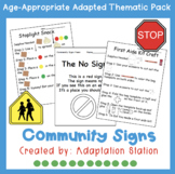 Weekly Thematic Pack: Community Signs Pre-Sale