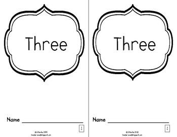 """""""three"""" Little Reader"""