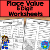 Place Value Worksheets - 5 Digit Place Value