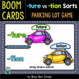-tion and -ture Sorting Game | Boom Cards