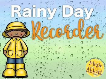 Rainy Day Recorder Games