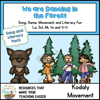 We are Dancing in the Forest Song and Literacy Pack