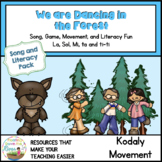 We are Dancing in the Forest Song and Literacy Movement Pack