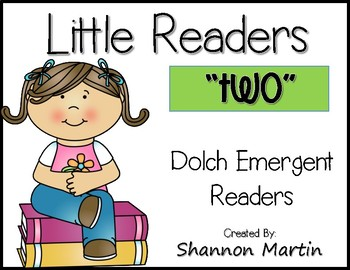 """""""two"""" Little Reader"""