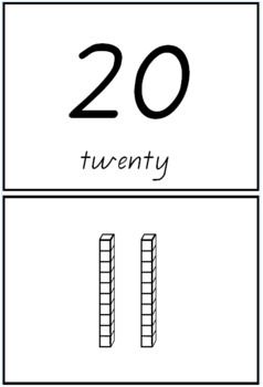 -ty numbers flashcards