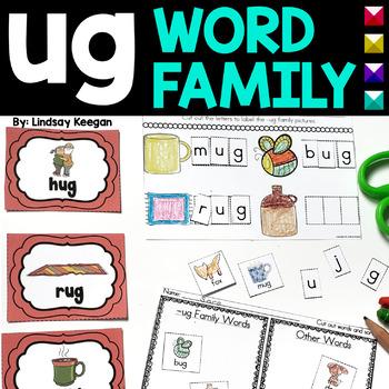 Word Family Fun! -ug Family