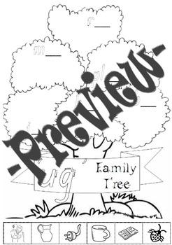 -ug Word Family Tree