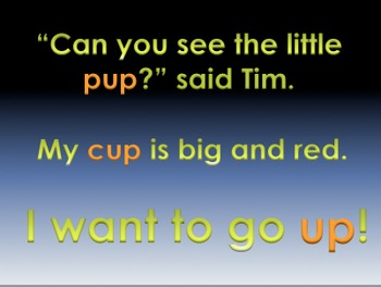 -up Word Family Powerpoint