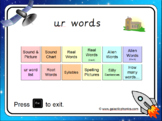 The 'ur' Phonics PowerPoint