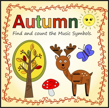 Аutumn: Find and Count the Music Symbols
