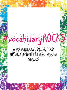 #vocabularyROCKS Vocabulary Project / Review