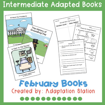 February Intermediate Adapted Books