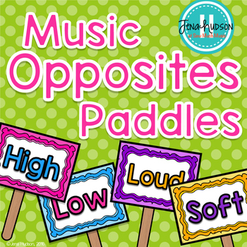 Music Opposite Paddles