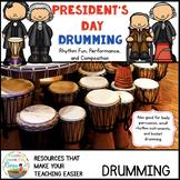 Presidents Day Bucket Drumming
