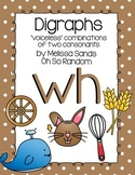-wh Digraph Anchor Chart & Practice {Click File, Print}