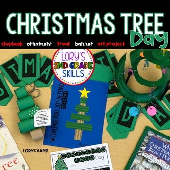 Christmas Tree Day Activities and Stepbook