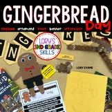 Gingerbread Man Day Activities and Stepbook