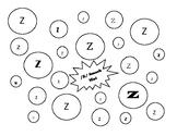 /z/ Isolation Play-Doh Smash Mat