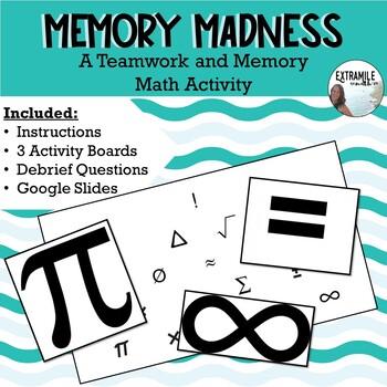 #backtoschool Back to School Math Teamwork Game