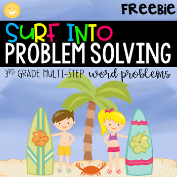 Two Step Word Problems | Distance Learning | Digital and Print