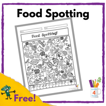Food Spotting! A food-neutral spot and find.